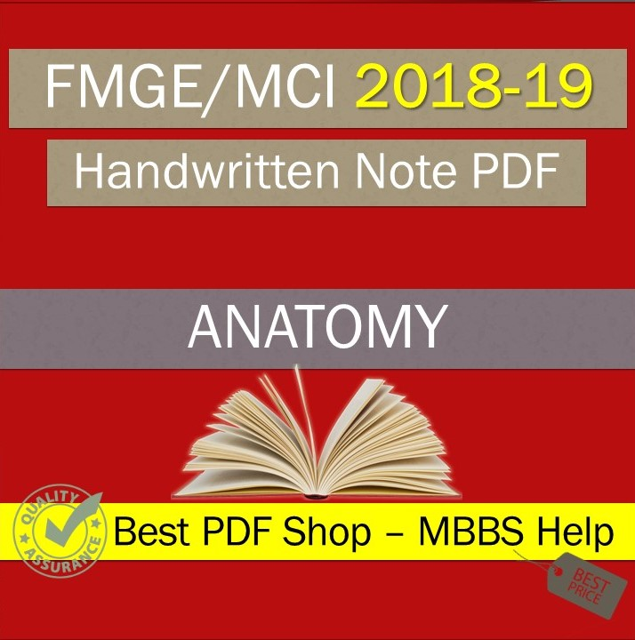 Anatomy FMGE PDF - Latest
