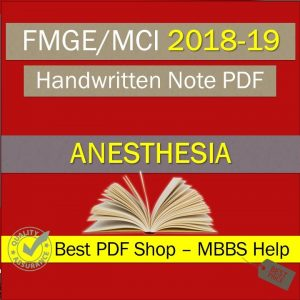 mist fmge anesthesia