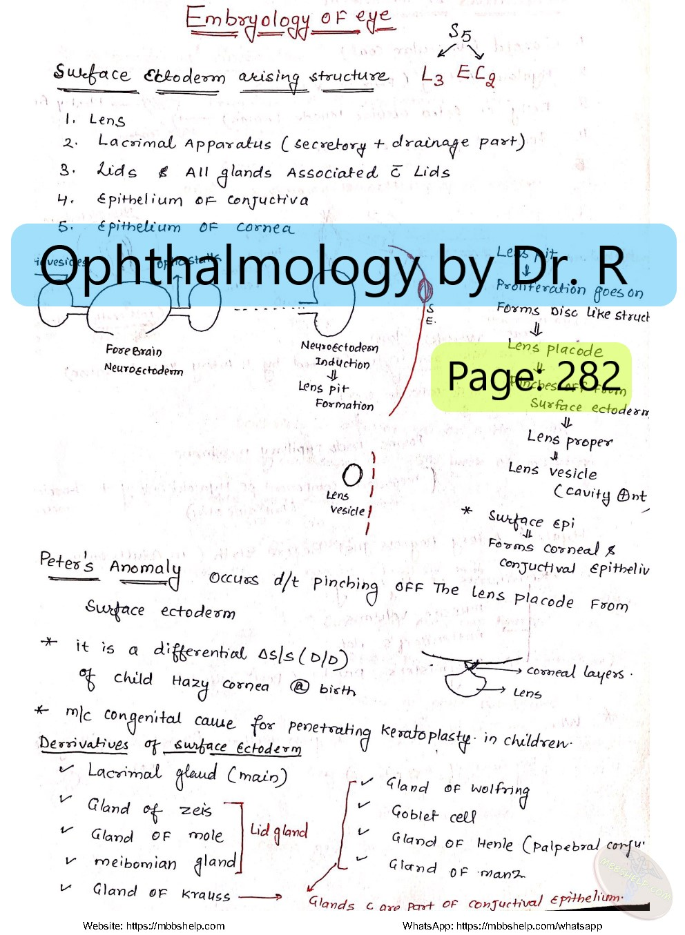 Ophthalmology PDF by Dr  R  (2019) 🆕